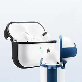 Hộp Bảo Vệ Cho Airpods Pro (Gồm 1 hộp bảo vệ airpods + Móc khóa chống rớt)