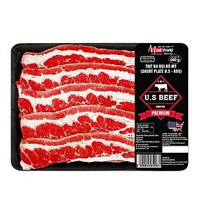 Ba rọi bò Mỹ BBQ 500g