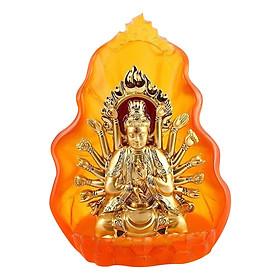Tượng Phật Bà Quan Âm Nghìn Tay Nghìn Mắt Phú Đạt TK76 - Vàng