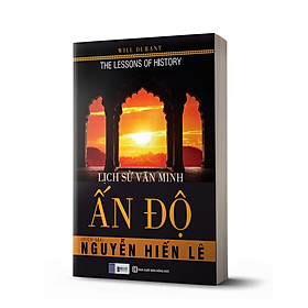 Sách - Lịch Sử Văn Minh Ấn Độ (Tặng kèm bookmark thiết kế )