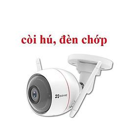 Camera IP Wifi EZVIZ C3W 2.0 Megapixel Ngoài Trời (có nháy đèn hú còi) - Hàng Chính Hãng
