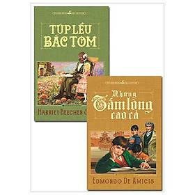 Combo Những Tấm Lòng Cao Cả + Túp Lều Bác Tom (Bộ 2 Cuốn)