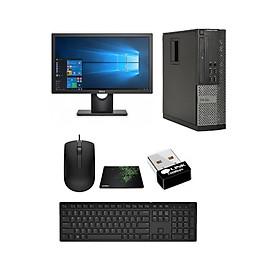 Bộ Máy Tính Để Bàn Dell Optiplex ( G620 / 8gb / SSD 120GB ) Và Màn Hình  19 inch - Tặng Bàn Phím Chuột + Lót Chuột + USB Wiif. - Hàng Nhập Khẩu