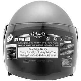Mũ Bảo Hiểm 3/4 Đầu Asia MT-111