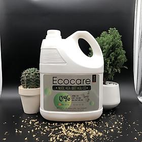 Nước rửa chén hữu cơ Bồ hòn hương Sả Chanh 4000ml thương hiệu Ecocare