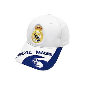 Nón thể thao CLB bóng đá Real Madrid cá tính (Trắng 489)