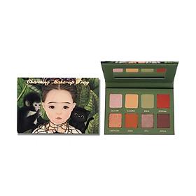 Bảng phấn mắt 8 màu Charming Makeup Tray NOVO