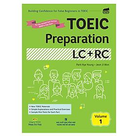 Toeic Preparation LC + RC Volume 1 (Kèm file MP3)