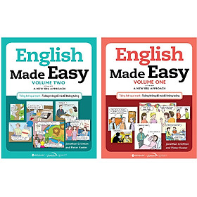 Combo 2 Cuốn: English Made Easy: Volume 1+ Volume 2