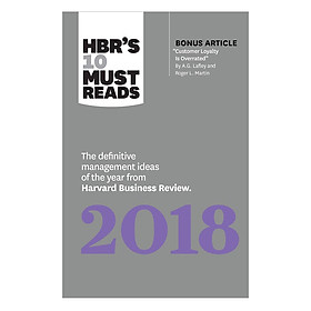 Harvard Business Review's 10 Must Reads 2018