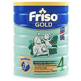 Sữa Bột Friso Gold 4 Cho Trẻ Từ 2-4 Tuổi 1500g