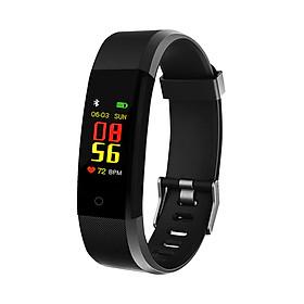 Vòng tay thông minh theo dõi sức khỏe Smart Bracelet Sport B11 - Màn hình màu - Kiểu dáng thời trang - Đo nhịp tim - Chống nước