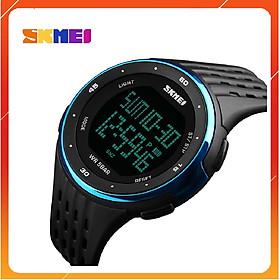 Đồng hồ điện tử thể thao nam SKMEI 1219 Có Đèn Led chống sốc chống nước, bơi lội thoải má