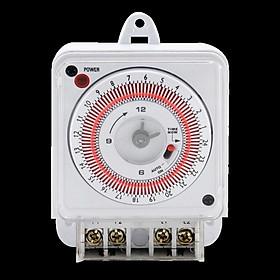 Công tắc hẹn giờ bật tắt thông minh, lắp đặt dễ dàng, linh hoạt an toàn cho người sử dụng và kéo dài tuổi thọ các thiết bị điện ( Tặng kèm đèn pin cơ mini bóp tay không sử dụng pin )