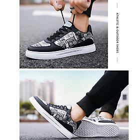 Giày nam sneaker thể thao họa tiết-7