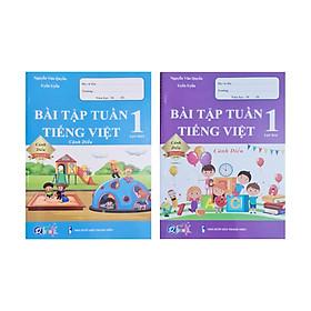 Combo Sách - Bài tập tuần Tiếng Việt 1 tập 1 + 2 ( Cánh Diều )