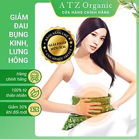 Túi Chườm Bụng Thảo Dược - ATZ Organic - Nóng Lạnh Đa Năng - Giúp Tiêu Hoá Tốt Hơn, Giảm Đau Bụng Khó Tiêu, Đau Bụng Kinh