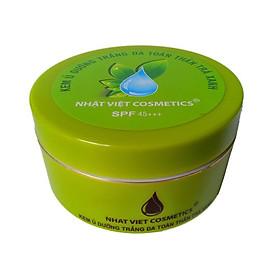 Kem ủ dưỡng trắng da toàn thân 200g - Nhật Việt trà xanh