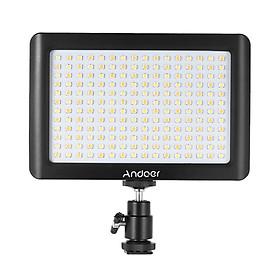 Bảng Đèn LED Mini Andoer Có Thể Điều Khiển Ánh Sáng Cho Máy Ảnh DSLR Canon/DV (3200K/6000K) (192 Led)