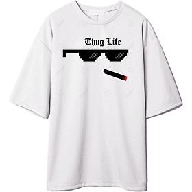 ÁO THUN TAY LỠ THUG LIFE MẪU 2