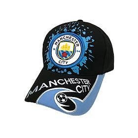 Nón thể thao CLB bóng đá Manchester City phong cách thời trang (Đen 500)