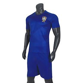 Sét Đồ Đội Tuyển Brazil Bích Sân Khách World Cup 2018