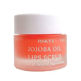 Tẩy tế bào chết môi PINKY'S - Jojoba Oil Lips Scrub 10g