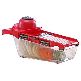 Dụng cụ bào sợi rau củ quả nhà bếp nhiều chi tiết hình dạng kích thước phù hợp, cắt lát nhiều loại rau củ như: khoai tây, cà rốt dưa chuột...