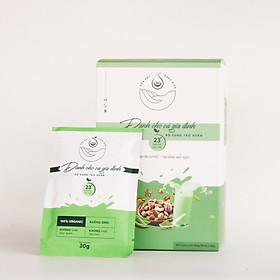 Sữa Hạt Phúc Hiếu Loại Bổ Sung Tảo Xoắn Dành Cho Cả Gia Đình (450g/ hộp 15 gói)