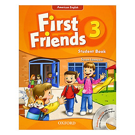 First Friends 3 Student Book and Audio CD Pack (American Edition)