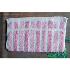 khăn mặt sọc màu kích thước 33*76