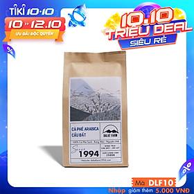 Cà phê Arabica Cầu Đất rang mộc sạch nguyên chất - Túi 250Gr (Dạng Bột)
