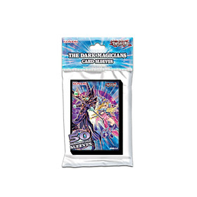 Bọc Thẻ Bài YugiOh! Sleeve Hình The Dark Magicians - Chính Hãng Konami - 50 Cái