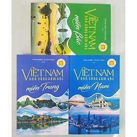 Combo Sách 3 Cuốn CẨM NANG DU LỊCH - Việt Nam Non Sông Gấm Vóc: Miền Bắc + Miền Trung + Miền Nam