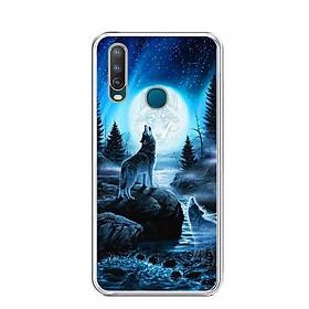 Ốp lưng điện thoại Vivo U10 - Silicon dẻo - 0485 Wolf04 - Hàng Chính Hãng