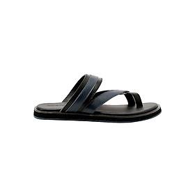 Dép Nam Đế Bằng Da Thật Gosto Arizona Sandal GDM003800BLK (Đen)
