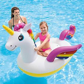 Phao bơi ngựa thần sắc màu khổng lồ Intex 57561