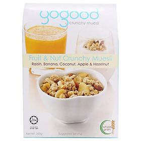 Ngũ Cốc Trái Cây Và Các Loại Hạt Yogood (350g)