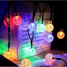 Dây Đèn LED Trang Trí Sân Vườn Chạy Năng Lượng Mặt Trời - K1090