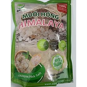 Muối hồng Himalaya nguyên chất dùng nấu ăn dạng mịn túi 500g (bao bì mới)