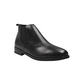 Giày Da Nam MENUP Mã Men - 6118 Đen Trơn