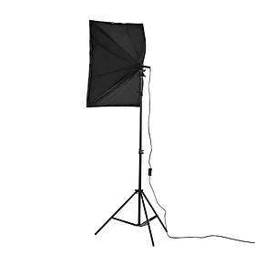 Bộ Đèn Softbox Chụp Hình Studio Chuyên Nghiệp (2 Bóng) (150W) (5500K) (50 x 70 cm)