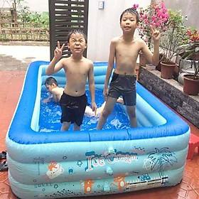 Bể bơi phao gia đình YOYO KT 255*165*60CM (tặng kèm bơm điện)