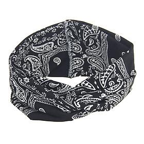 Hình đại diện sản phẩm Băng Đô Turban Thể Thao Yoga Thắt Nút Cho Nữ
