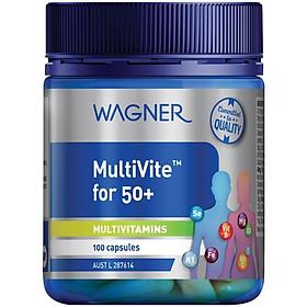 Wagner Multivite For 50+ 100 Capsules