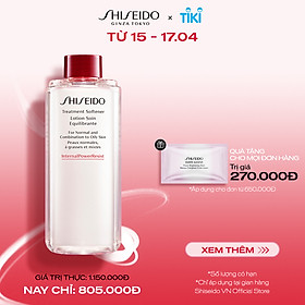 Nước cân bằng Shiseido Treatment Softener 150ml (Refill)