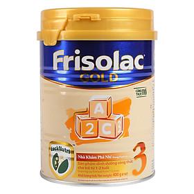 Sữa bột Frisolac Gold 3 400g cho bé từ 1-2 tuổi