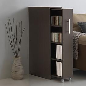 Tủ Sách Di Động Thông Minh, Tủ Sách Gỗ Đa Năng kích thước 97cm x 44,8cm x 23,8cm