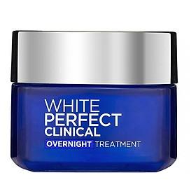 Kem Dưỡng Đêm Giảm Thâm Nám - Trắng Mịn L'Oréal White Perfect Clinical (50ml)
