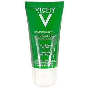 Sữa rửa mặt giảm dầu, ngăn ngừa mụn Vichy Normaderm Phytosolution (50ml)